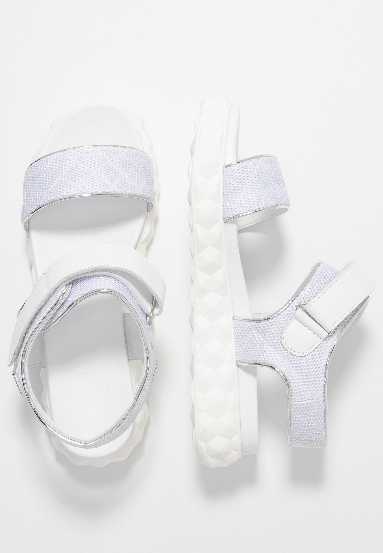 Studio Modd Platåsandaler - white
