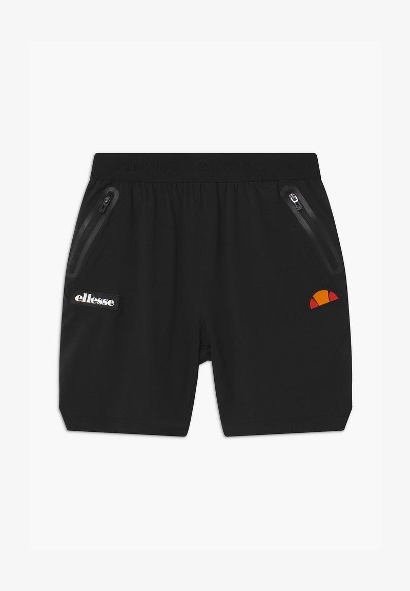 Ellesse - SESIMO SHORT UNISEX - Sports shorts - black