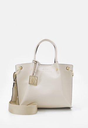 SMALL SET - Tote bag - panna