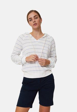 MARNIE  - Luvtröja - offwhite/light blue stripe