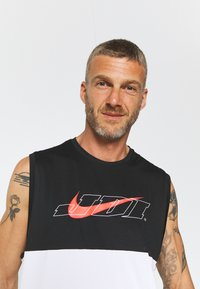 Nike Performance - TANK DRY ENERGY - Sports shirt - white/bright crimson - 3