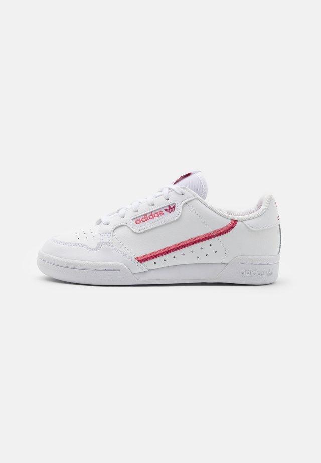 CONTINENTAL 80 UNISEX - Sneakers basse - footwear white/wild pink/hazy rose
