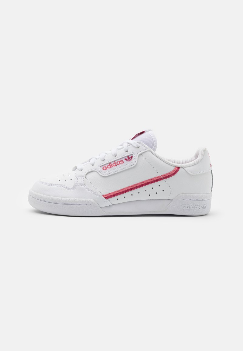 adidas Originals - CONTINENTAL 80 UNISEX - Trainers - footwear white/wild pink/hazy rose