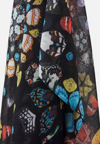 Desigual - FOU BUTTERFLY GALACTIC - Scarf - black - 3