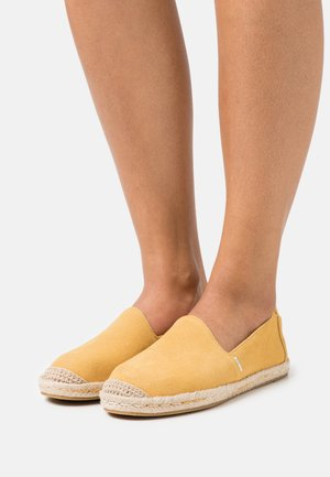 PISMO - Espadrilky - golden yellow