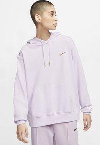 Nike Sportswear - HOODIE - Jersey con capucha - barely grape/iced lilac - 0