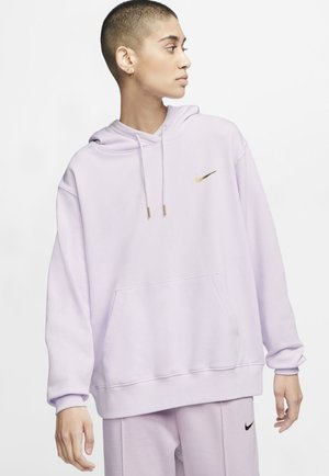 HOODIE - Jersey con capucha - barely grape/iced lilac