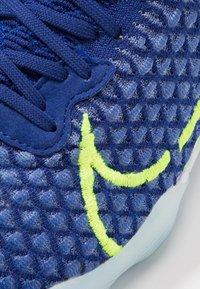 Nike Performance - REACTGATO  - Indoor football boots - racer blue/volt/deep royal blue/white - 5