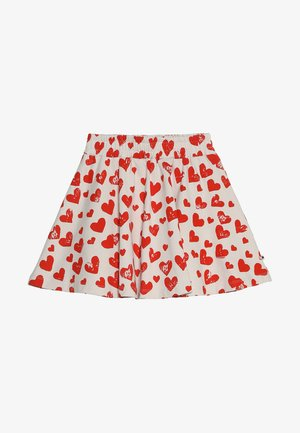 BARBERA - A-line skirt - red