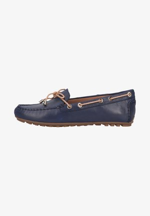 Boat shoes - blue/sand