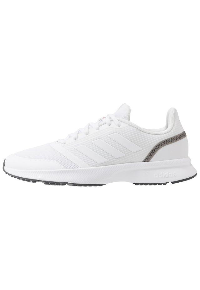 NOVA FLOW - Neutral running shoes - footwear white/grey six