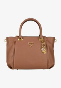 Guess - DESTINY STATUS SATCHEL - Handbag - cognac - 0
