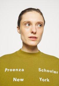 Proenza Schouler White Label - LONG SLEEVE - Sweatshirt - moss - 3