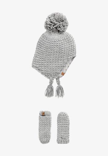 2 PIECE - Gloves - grey