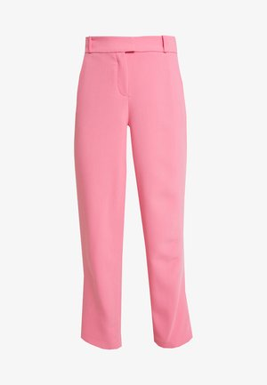 CROPPED STRAIGHT - Trousers - pink