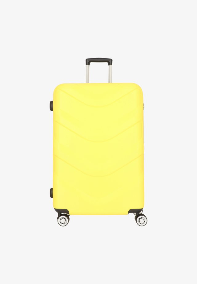 ARROW 2 4-ROLLEN TROLLEY 76 CM - Wheeled suitcase - yellow