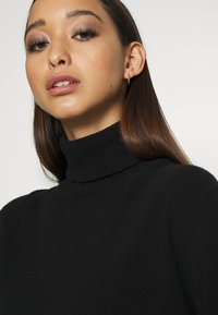 ALIGNE - ANNALISE - CASHMERE ROLL NECK - Jumper - black - 4