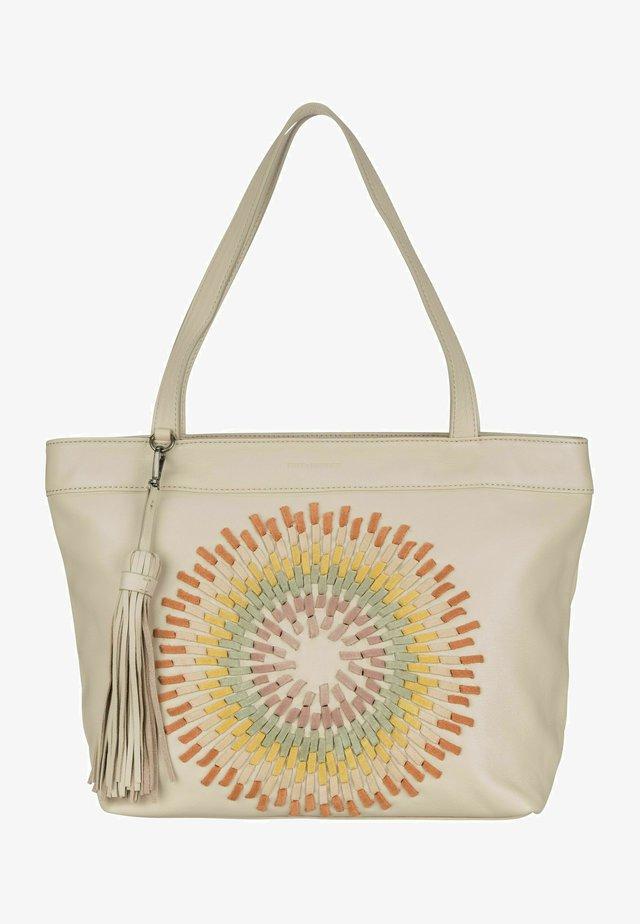 Shopping bag - beige
