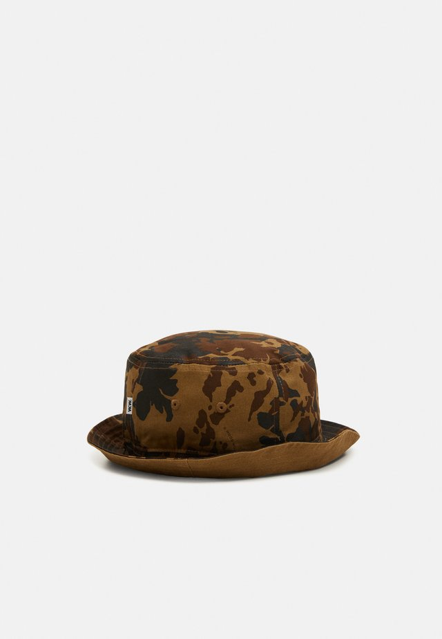 BUCKET HAT UNISEX - Klobouk - brown