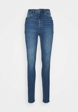 Skinny džíny - mid blue