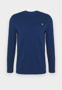 Lyle & Scott - CREW NECK PLAIN - Long sleeved top - indigo - 3