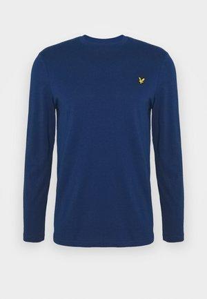 CREW NECK PLAIN - Långärmad tröja - indigo