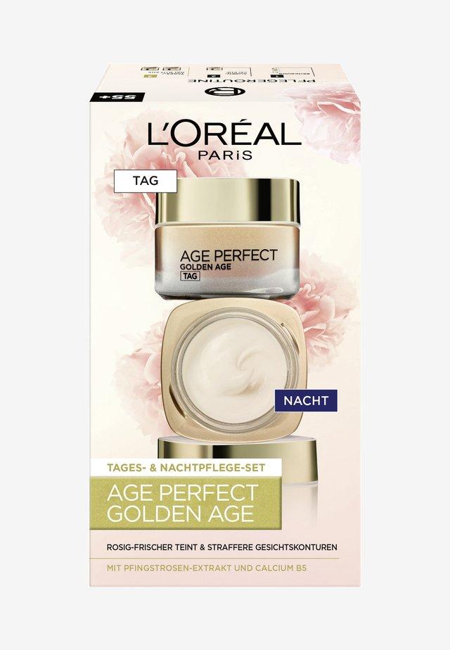 AGE PERFECT GOLDEN AGE TAG UND NACHT GESICHTSPFLEGE - Kit skincare - -