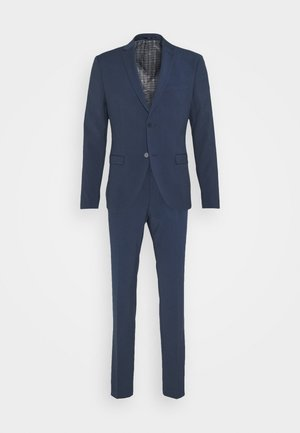 PLAIN SMOKEY SUIT - Kostym - blue