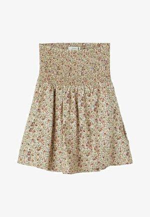 A-line skirt - whisper pink