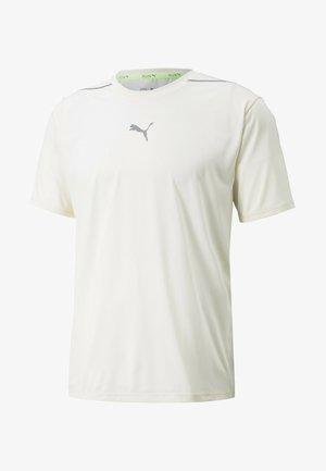 COOLADAPT RUNNING TEE  - Basic T-shirt - ivory glow