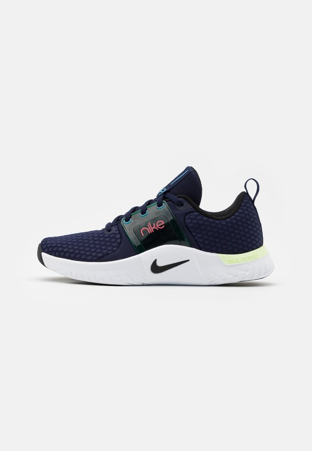 RENEW IN-SEASON TR 10 - Chaussures d'entraînement et de fitness - blackened blue/black/lagoon pulse