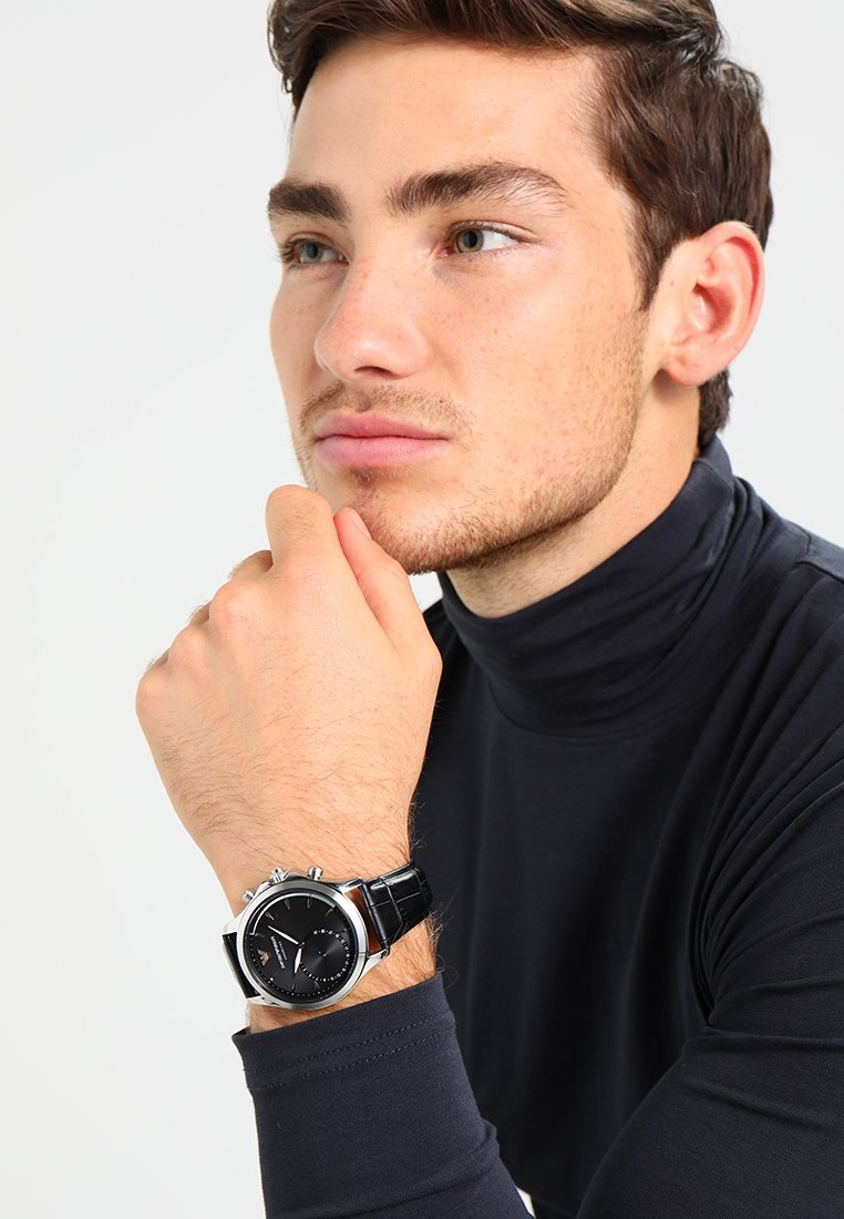 Emporio Armani Connected - Smartwatch - matt schwarz