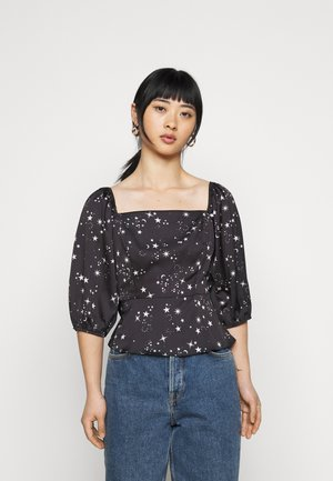 AVA STAR SHELL - Blouse - black