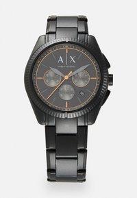 Armani Exchange - Hodinky se stopkami - black - 0