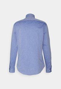 Tommy Hilfiger Tailored - OXFORD DOBBY SLIM - Formal shirt - navy/white - 1