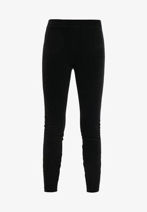 VELVET  - Leggingsit - black