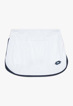 SQUADRA SKIRT - Sports skirt - brilliant white