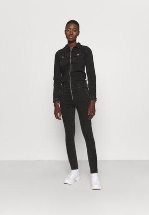 ONLINC CALLI ZIP  - Jumpsuit - black denim