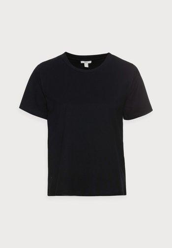 CRISPY - Basic T-shirt - black