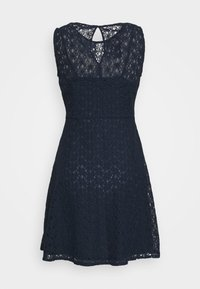 Vero Moda - VMALLIE SHORT DRESS - Day dress - navy blazer - 4