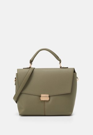 HANDLE SHOULDER BAG - Handbag - khaki