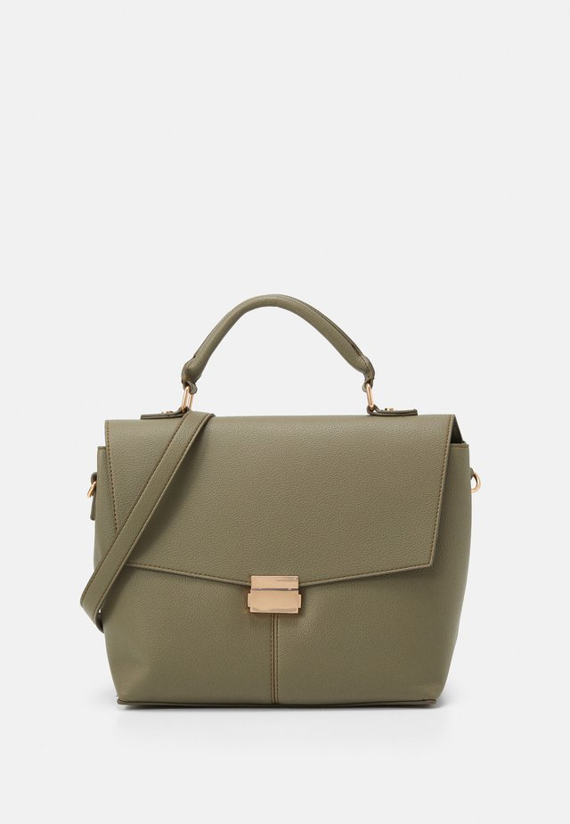 HANDLE SHOULDER BAG - Handtasche - khaki