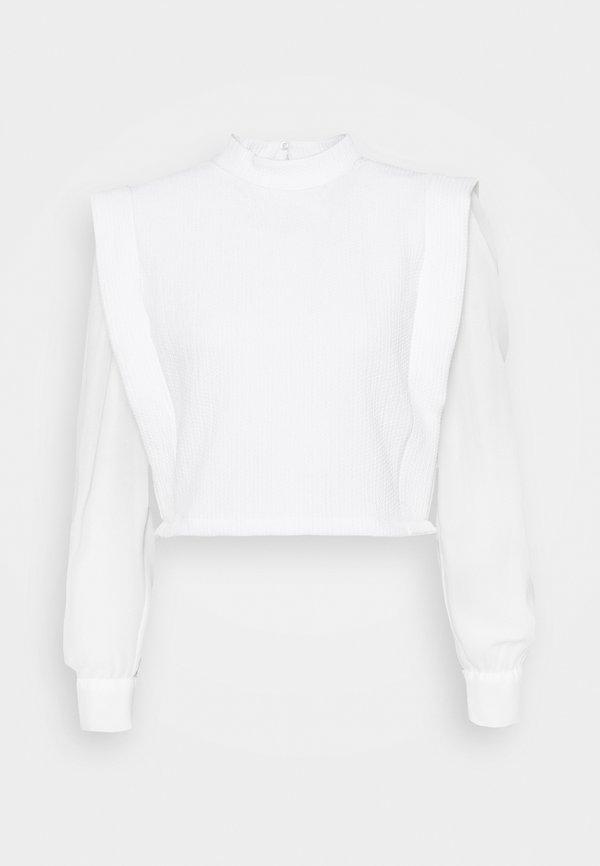 Trendyol Bluzka z długim rękawem - ecru/mleczny PKUD