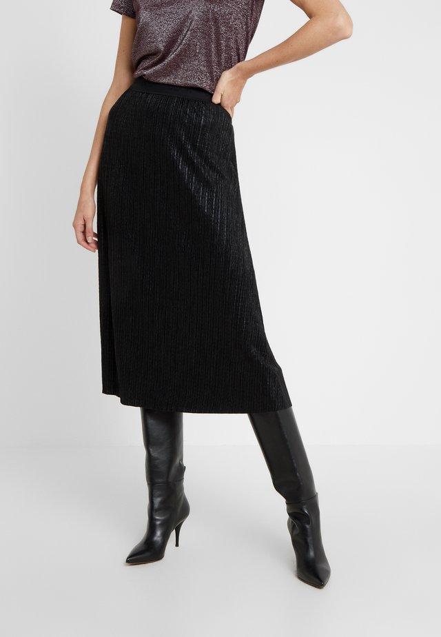 DAMERA - A-line skirt - black