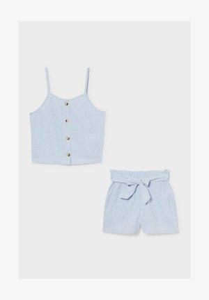 SET - Shorts - blue / white