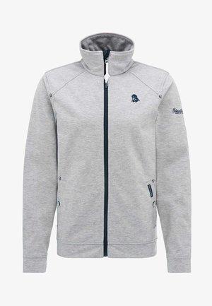 Training jacket - grey melange