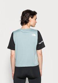 The North Face - Print T-shirt - silver blue/black - 2