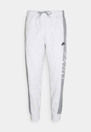 Tracksuit bottoms - birch heather/particle grey/particle grey/black