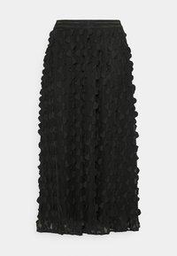 FLORA SKIRT - A-line skjørt - pitch black