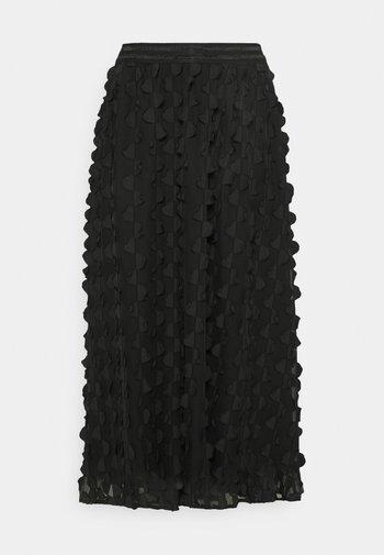FLORA SKIRT - A-line skirt - pitch black